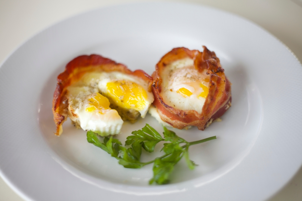 Bacon Egg & Cheese Cups 9