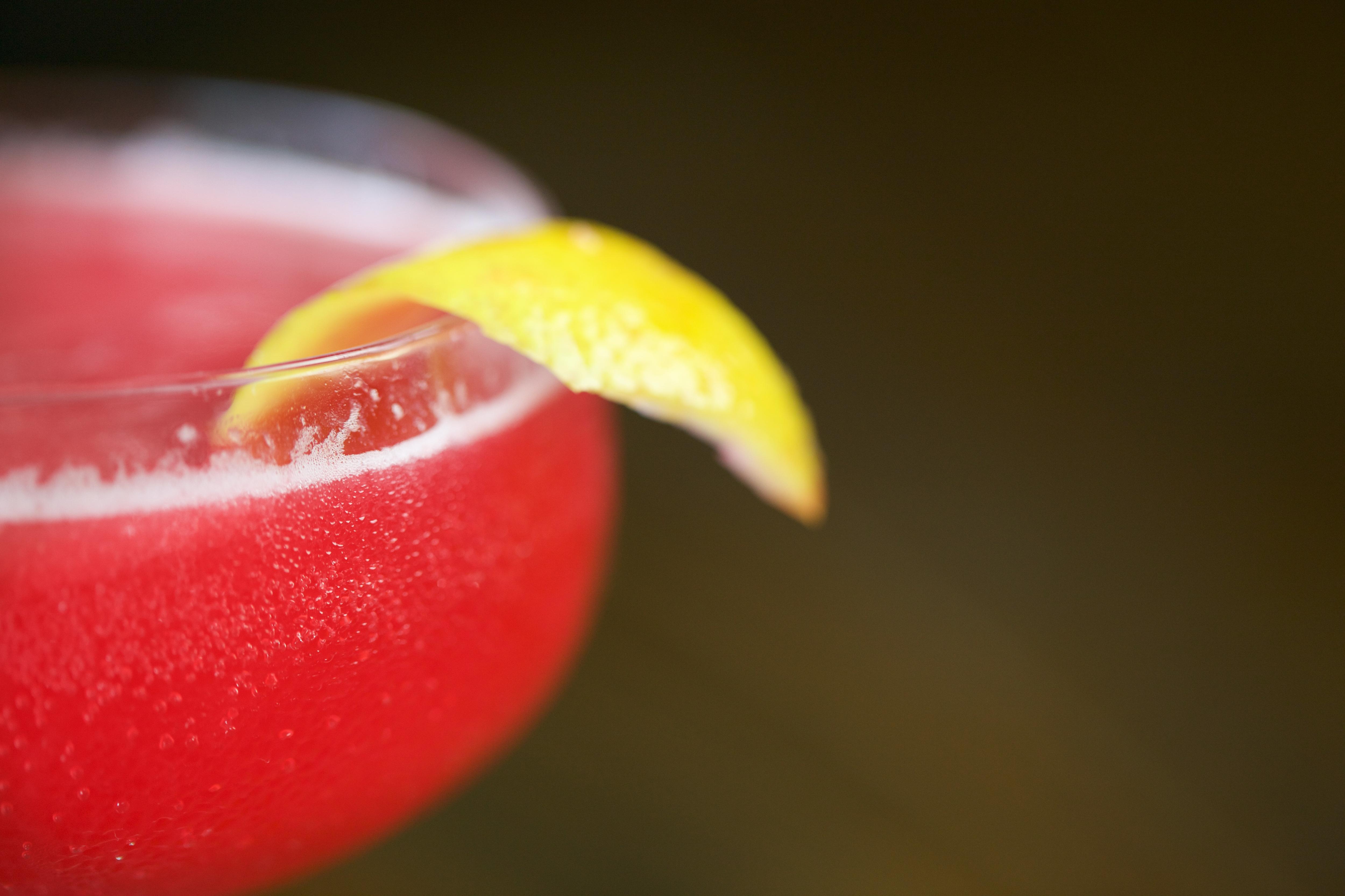 Blood Orange Vodka Cocktail